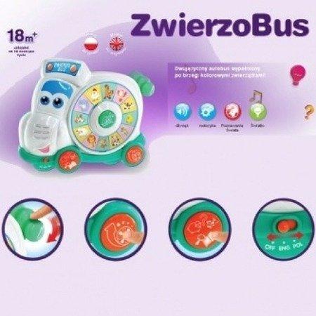 Dumel (42287): Zwierzobus, dwujęzyczny autobus
