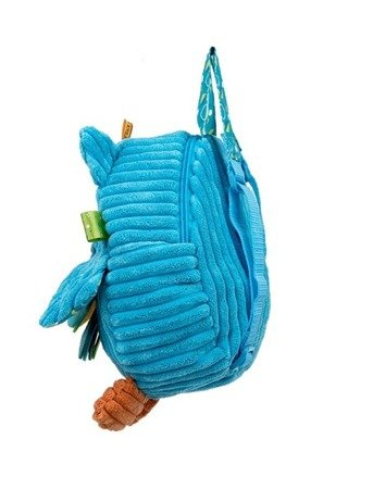 Dumel (DD 89604): Plecak sowa niebieska