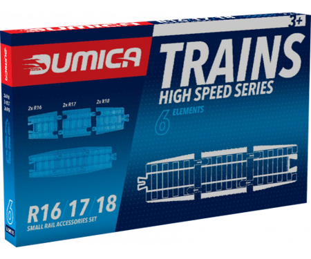 Dumel DU20328: Small Rail Accessories Set/R16-17-18