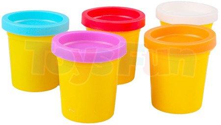 Kolorowa masa plastyczna 5 kolorów