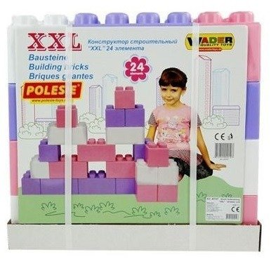 Polesie Wader (40107): Klocki XXL, 24 el.