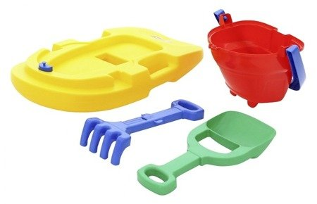Polesie Wader (8518): Zestaw plażowy zabawki do piasku i wody