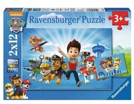 Ravensburger RAP075867: Puzzle: Ryder i Psi Patrol 2x12el.
