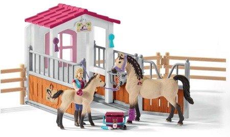 Schleich (SLH42369): Zagroda dla koni z figurkami