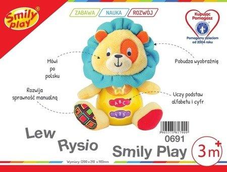 Smily Play (0691): Maskotka, przytulaczek Lew Rysio