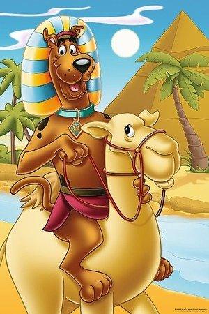 Trefl 14233: Puzzle 24 Maxi - Scooby Doo w Egipcie