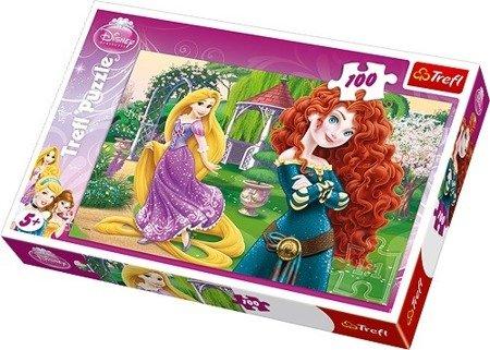 Trefl (16199): Puzzle 100 el.: Zadziorne Księżniczki