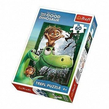 Trefl (17278): Puzzle 60 el. - Jak dobrze mieć przyjaciela!