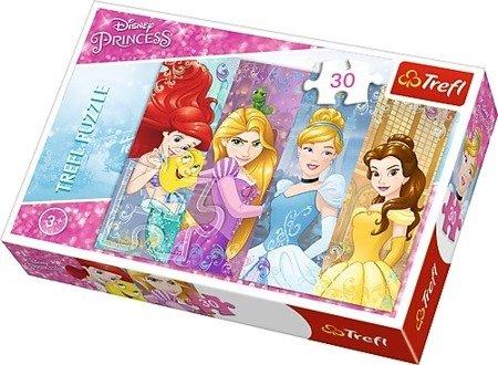 Trefl 18205: Puzzle 30 el. - Bajkowe Księżniczki