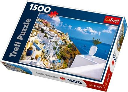 Trefl 26119 Puzzle 1500 el. Santorini, Grecja