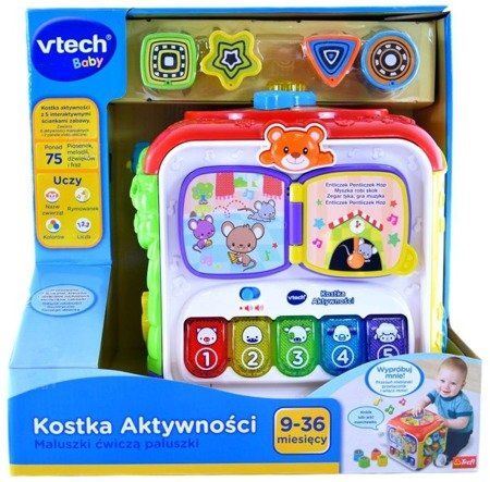 Vtech (60677): Kostka aktywności sorter