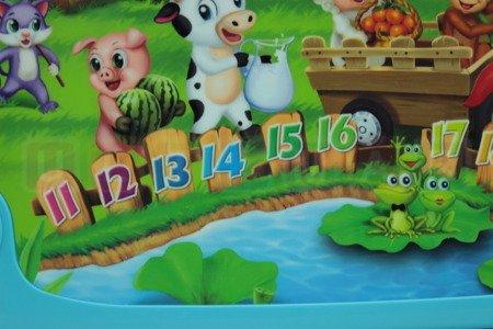 Wesoła Farma panel dotykowy do nauki angielskiego
