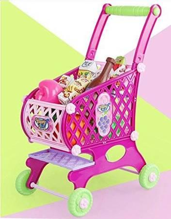 Wózek sklepowy, koszyk na zakupy + akcesoria