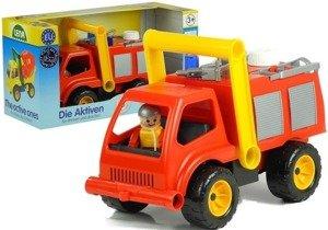 Lena Straż pożarna samochód figurka strażak woda