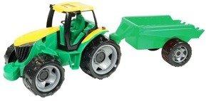 Lena Traktor z przyczepą zielony